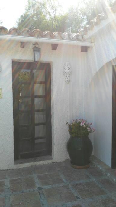 Nuestra entrada a Villa La Hidalga