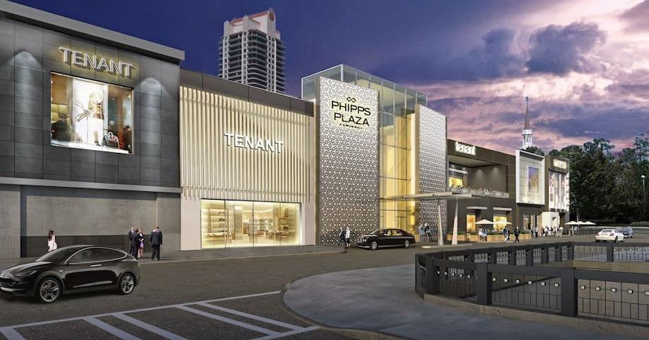 Buckhead Living/Luxury Shopping/FREE PARKING!!!