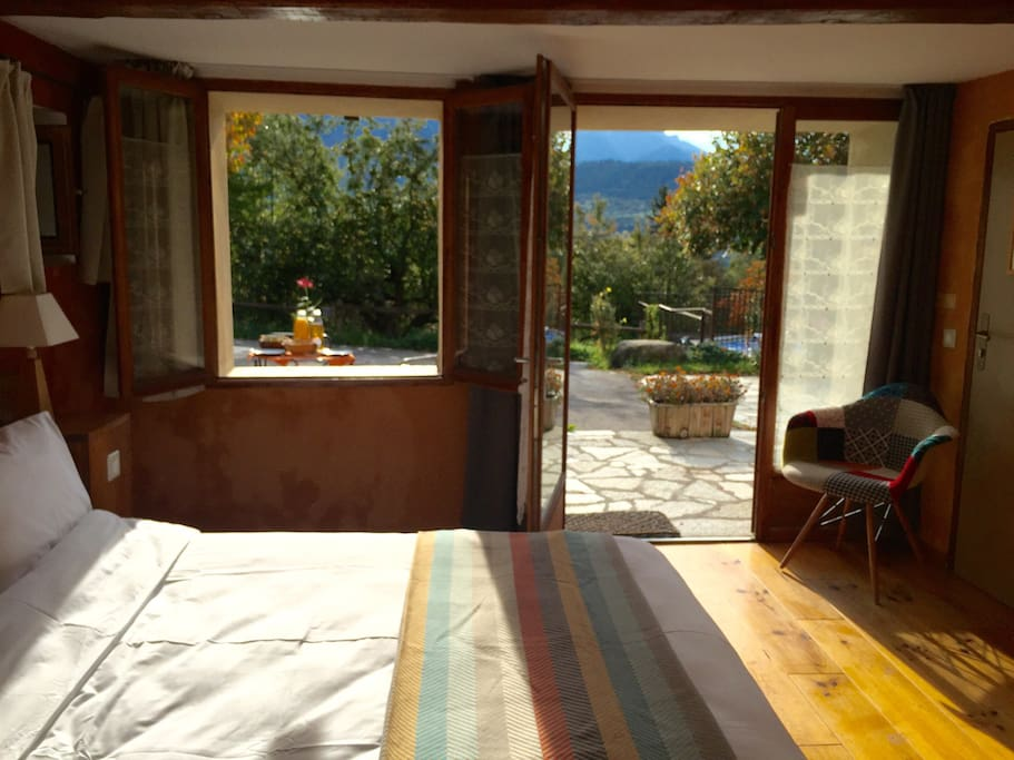 Deluxe room on terrace