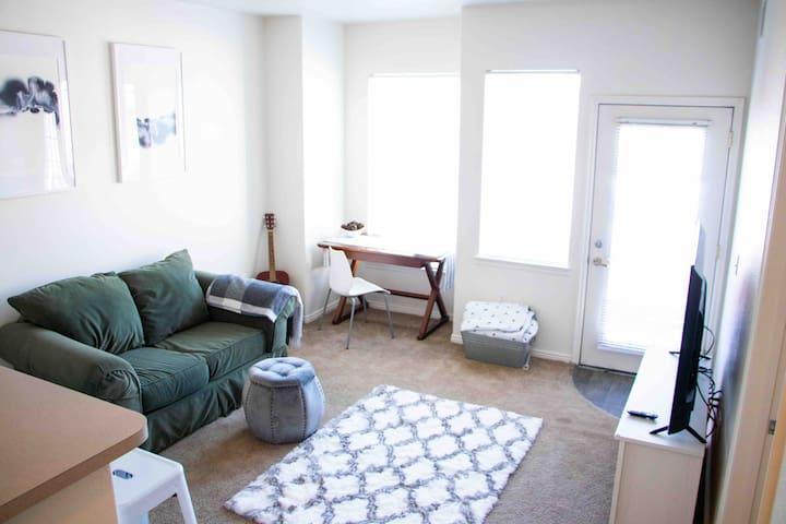 AMAZING LOCATION! Downtown Salt lake apartment!