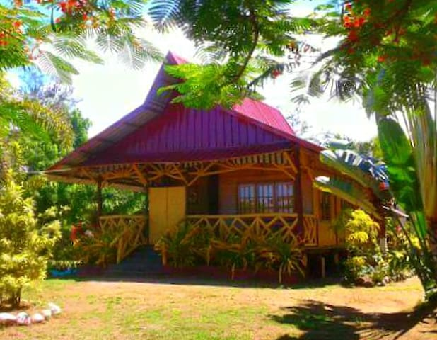 Pinoy's Native Beach House - Narra