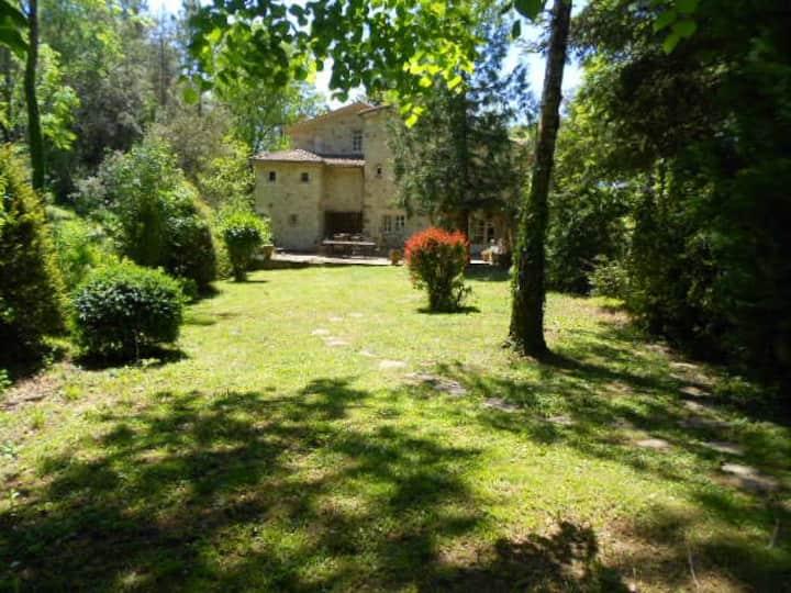Superbe demeure, Sud Ardèche, Parc, Calme, Piscine