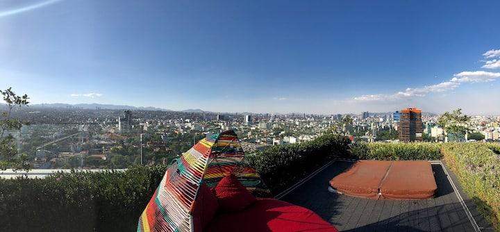 Luxury Apartment at Insurgentes Sur & Manacar