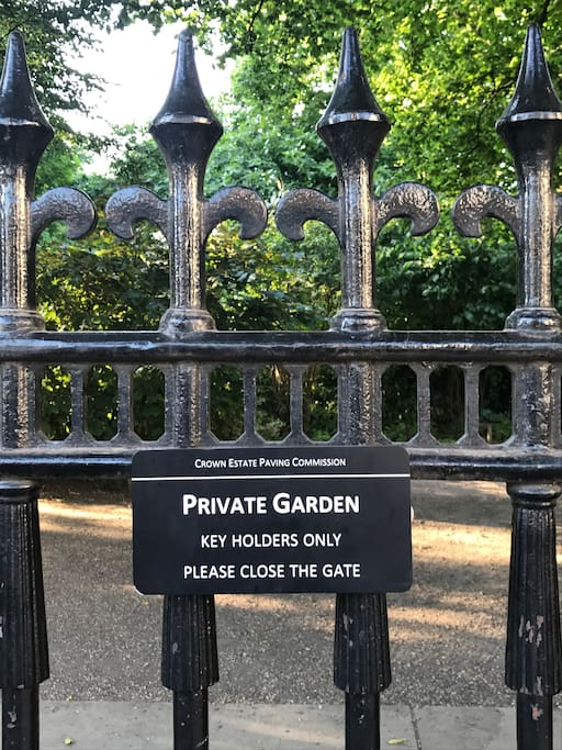 Access to Private Garden