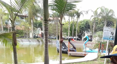 A little meters we have the mariscal castilla park that is natural reservation