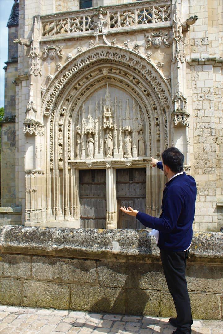 Les fines façades romanes