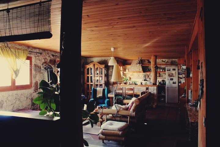 La cabaña de la montaña