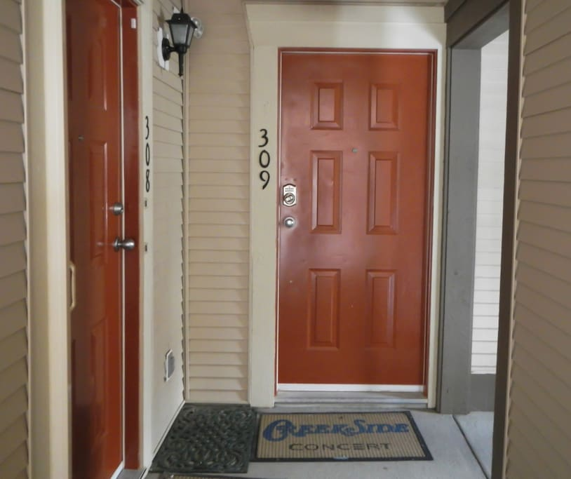 Condo Private Entrance on the Third Floor