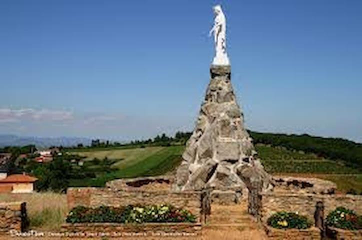 au milieu des vignes - Lucenay