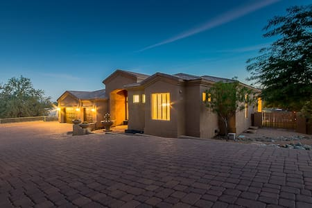 Luxury 4 Bdrm Surrounded by Desert Mtn & Golf - Fountain Hills - Huis