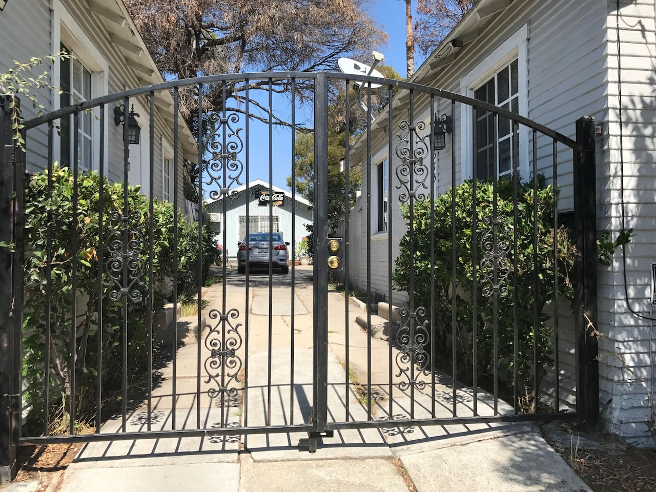Separate House with compact car parking inside private lot