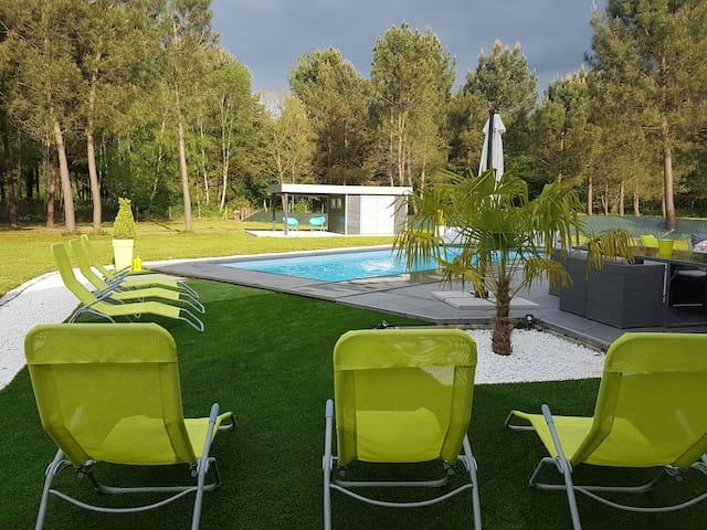 Magnifique villa avec piscine - Cérans-Foulletourte - Villa