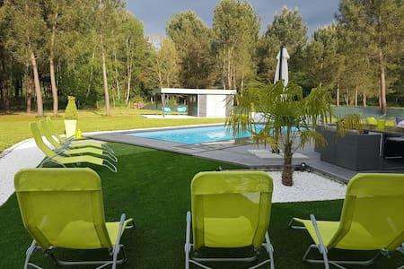 Magnifique villa avec piscine - Cérans-Foulletourte - 別荘