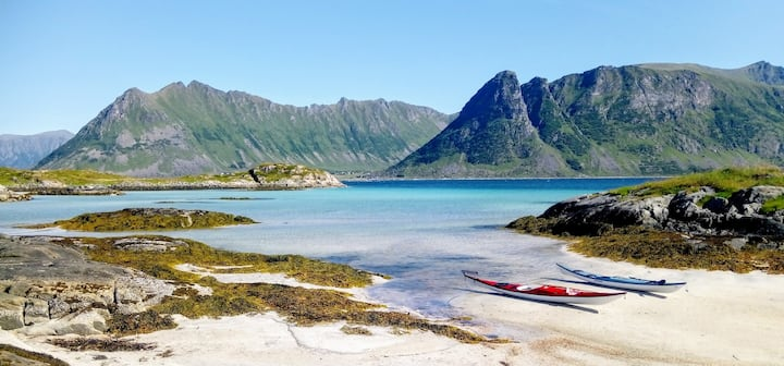 Holiday Dream in the middle of Lofoten Paradise
