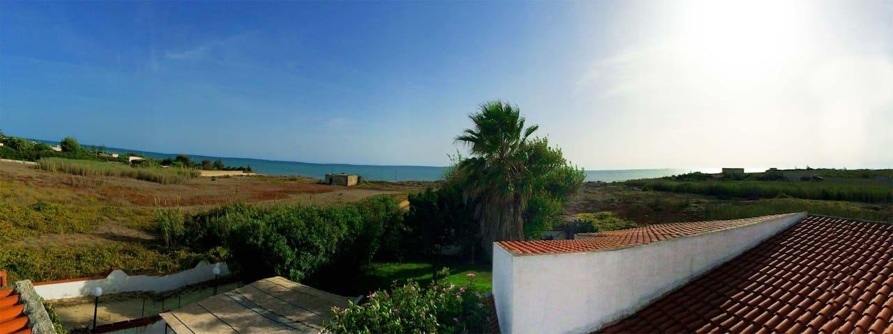 Urlaub auf Sizilien-großes, gemütliches Zimmer (1) - Tre Fontane - House
