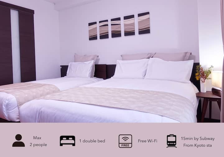 305  ★10 seconds to the station! Kitchen&Free WIFI