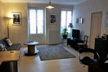 Charming apartment . City center. 3 rooms/5 people - Appartement