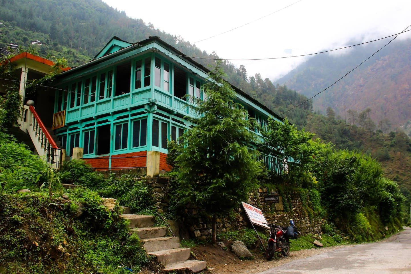 Front View of our Homestay :)