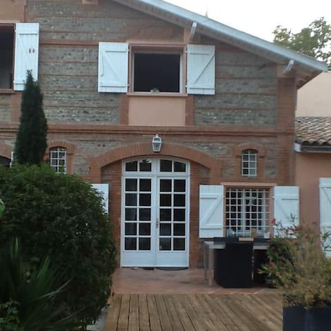 Studio chaleureux dans quartier calme - Toulouse - Rumah Tamu