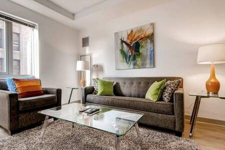 Lux 2 Bedroom in Chinatown w/WiFi, Gym - Boston - Wohnung