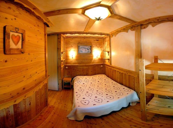 appartement dans chalet  classé Gîte de France