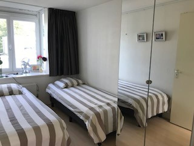 Room privacy near centre Amsterdam