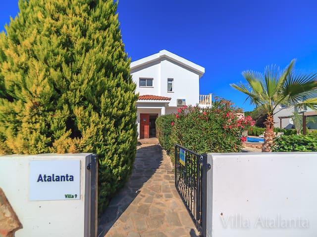 Villa Atalanta in Coral Bay