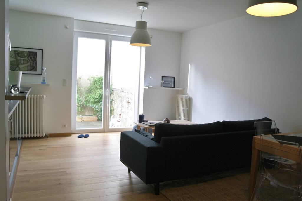 Appartement cosy en plein centre avec jardin apartments for Beau jardin apartments reviews