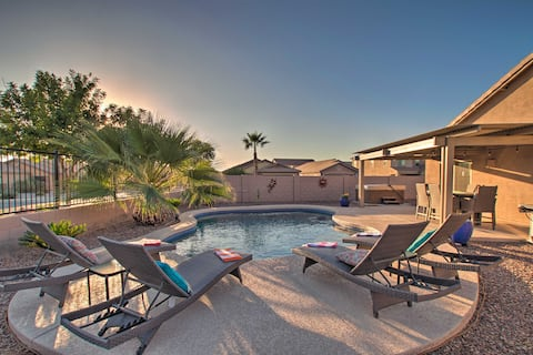 Updated San Tan Valley Escape w/ Backyard Oasis!