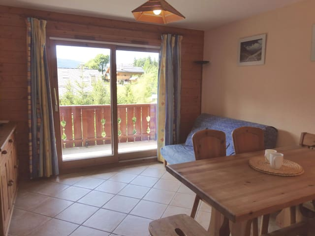 Nice 3  rooms apartment 4 persons in Meribel Village close to the slopes and shops