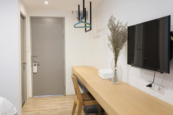 PJ Inn Pattaya : Cozy Studio (Double or Twin bed)