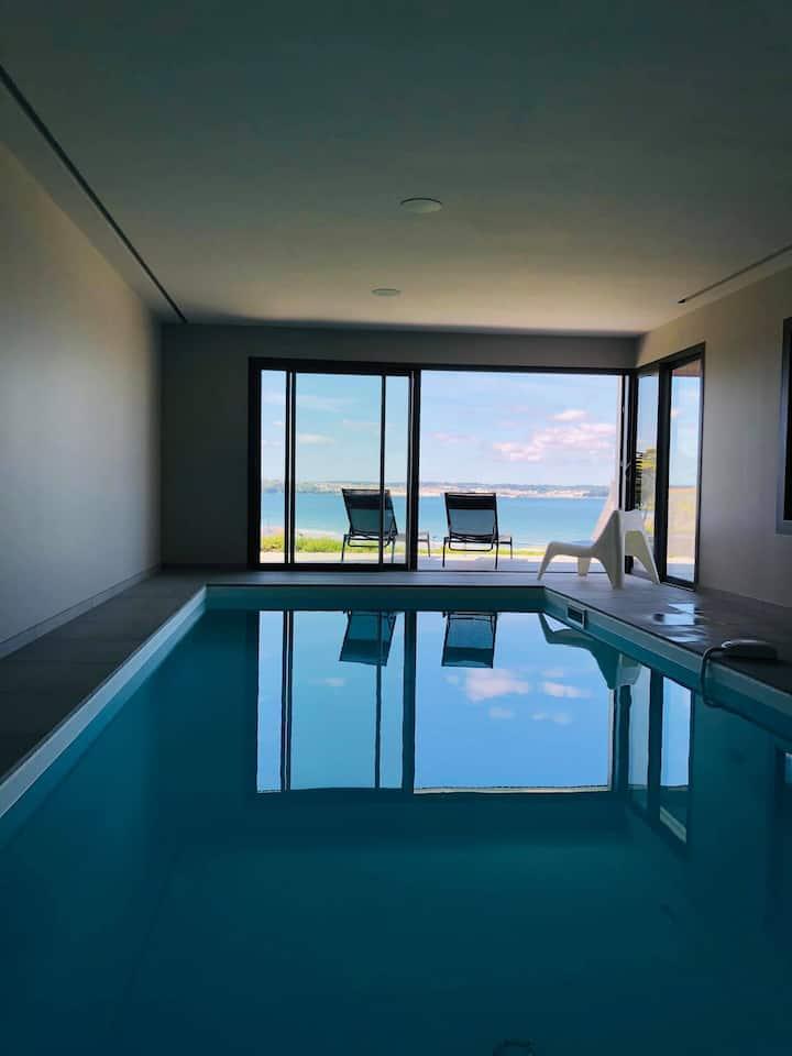 Villa hautes prestations vue mer et piscine