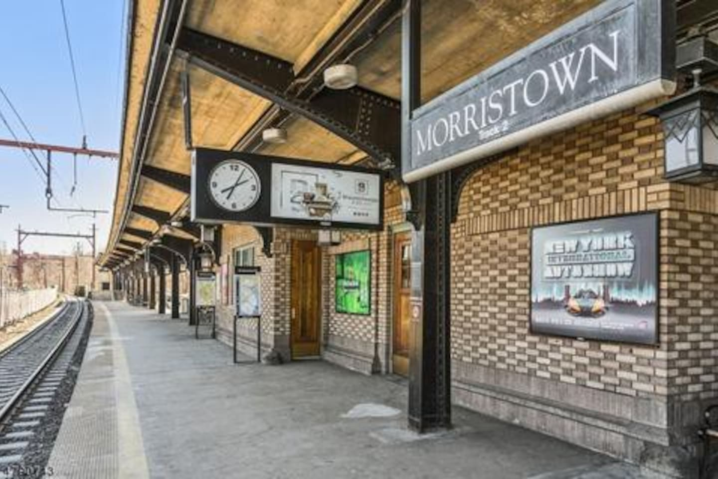 Morristown Train Station - 12 mins