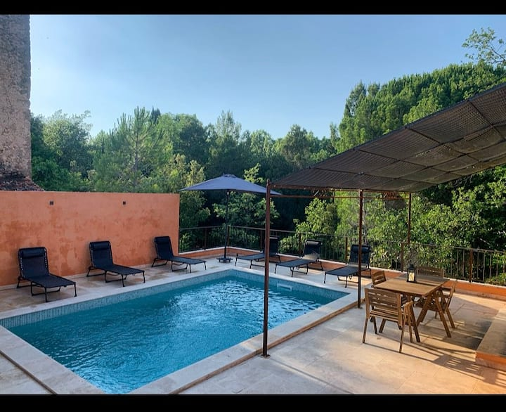 Sublime Villa + Piscine à 20 min des gorges Verdon