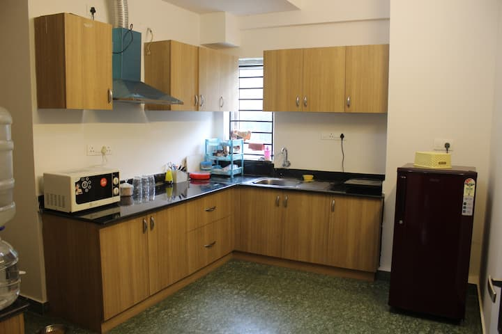 Divbnb :Entire 3BHK apartment in Whitefield