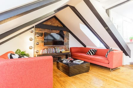 Amazing flat in old charming Quebec with rooftop - Ville de Québec