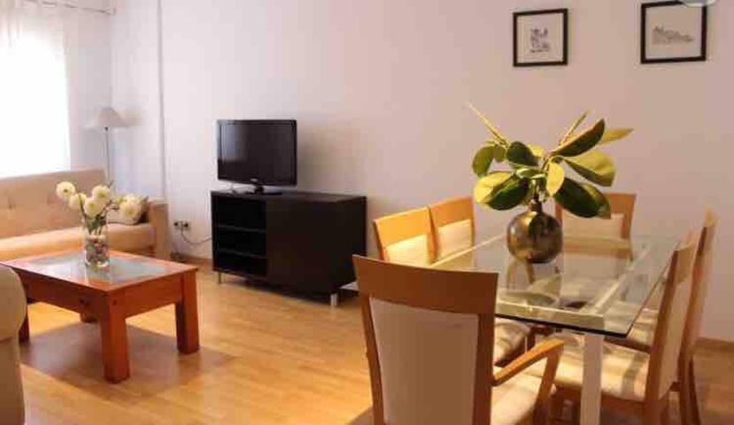 Acogedor apartamento con vistas cerca del mar