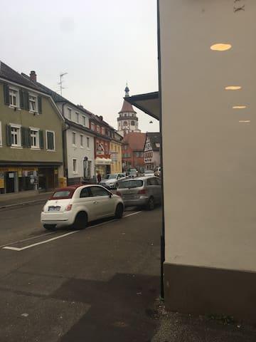 Gemütliche 1 1/2 Zimmer(Stadtmitte) - Gengenbach - Leilighet