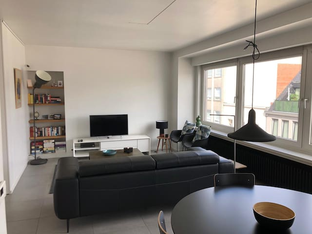 Nice apartment 2min from city center and station