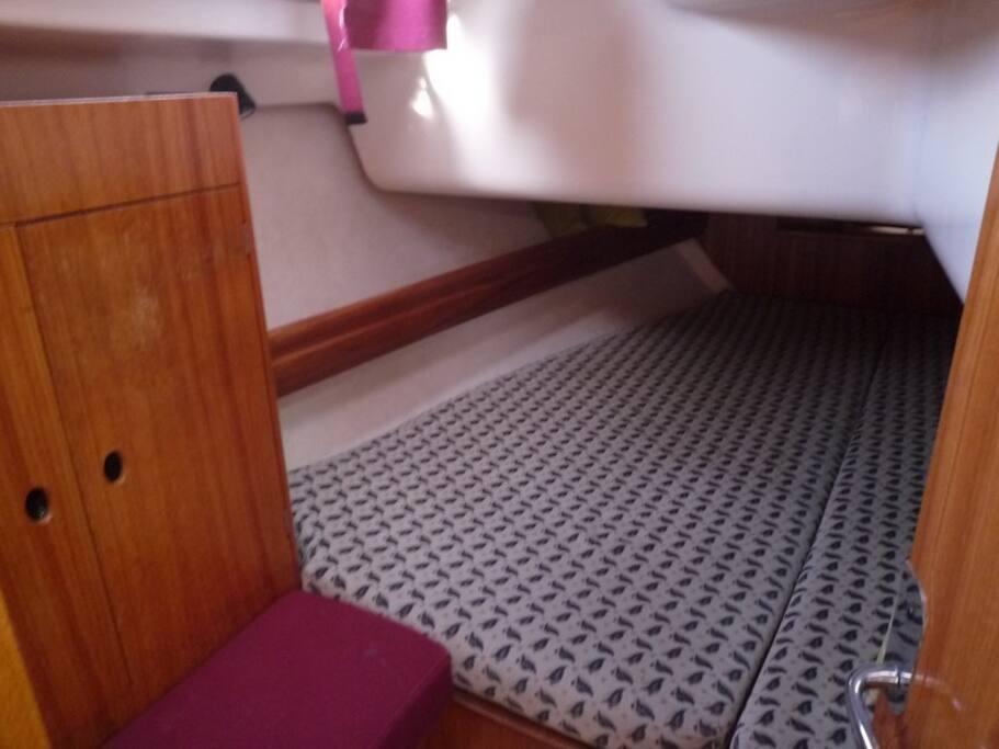cabine tribord