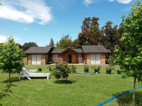 Large private completely furnished country home