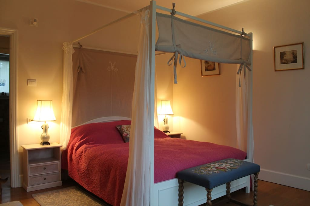 The Garden Room - with a wonderfully comfortable double bed