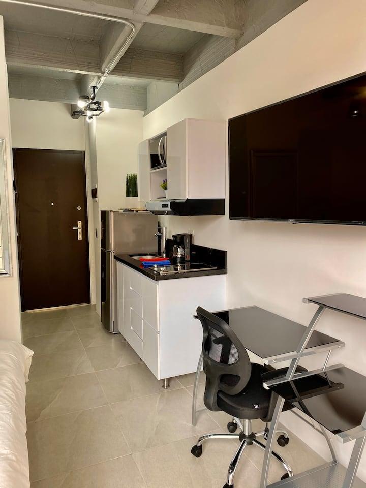 Apartaestudio Luxury en Laureles 305