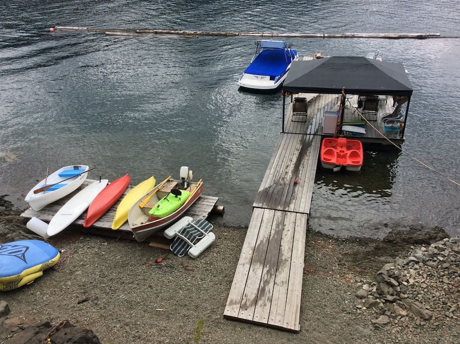 Our dock.