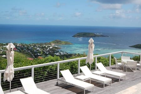 Villa Beaubijou really is a bijou residence in the hills of St Barts - Vitet
