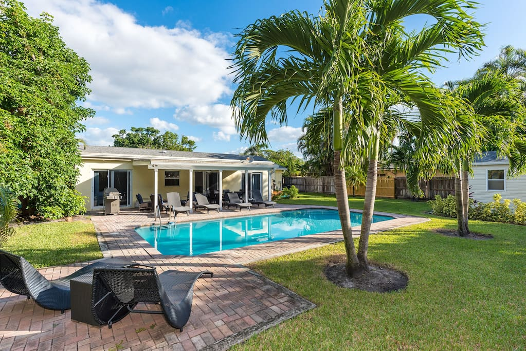 Welcome to your home in Palm Beach Gardens! Ultimate relaxation awaits in the private backyard complete with a sparkling pool.