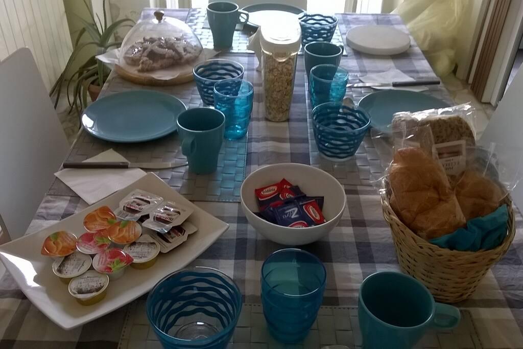 La mia colazione mediterranea