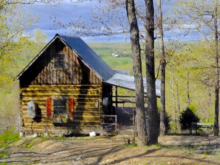 Aunt Phoebe's Cabin - Rock Eddy Bluff Cabins