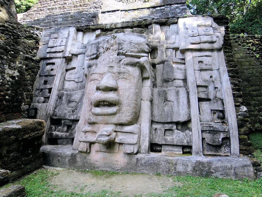 """Lamanai Maya Ruin.  45 minute Drive from """"Home Base."""" see more.."""
