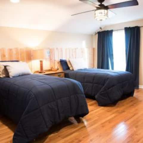 Healing Rain spa bed and breakfast room 2